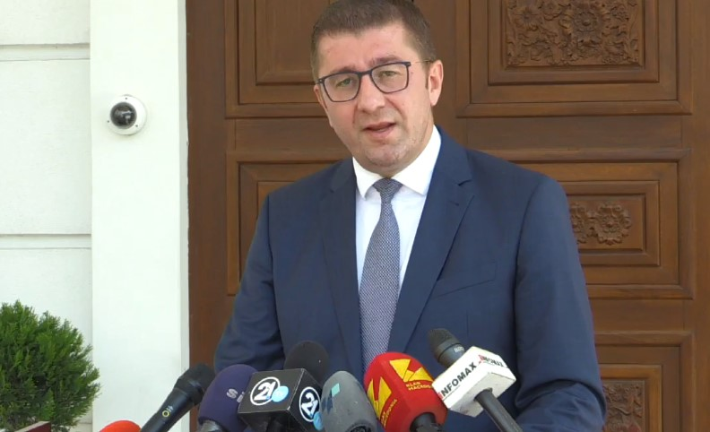 Mickoski: FroDem party is joining VMRO-DPMNE