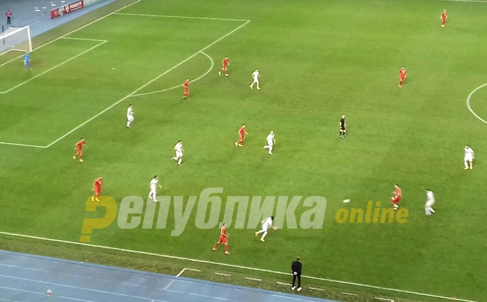 Macedonia draws at home with Georgia, in preview of their crucial November game