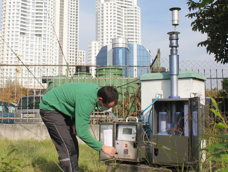 Two new air pollution measuring stations placed in Skopje