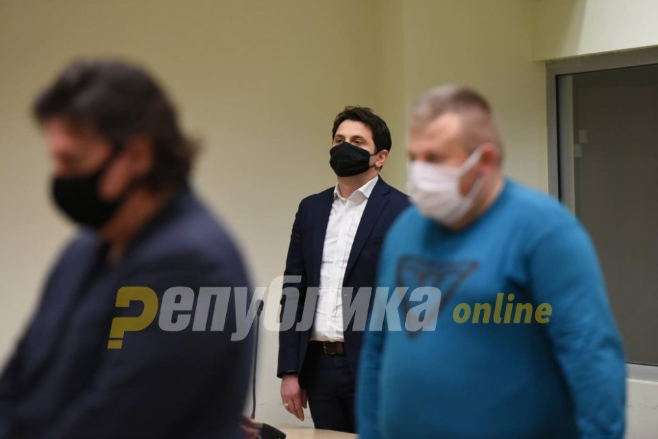 Janakieski ordered by the judge to run from hearing to hearing and back