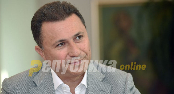 Gruevski: We have more political prisoners now than under occupation in 1941