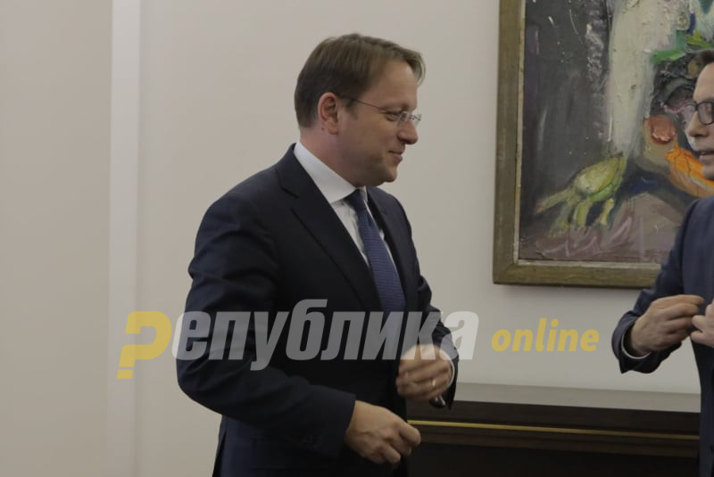 Commissioner Varhelyi calls on Macedonia and Bulgaria to resolve their dispute
