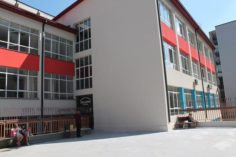 Corona outbreak in downtown Skopje elementary school