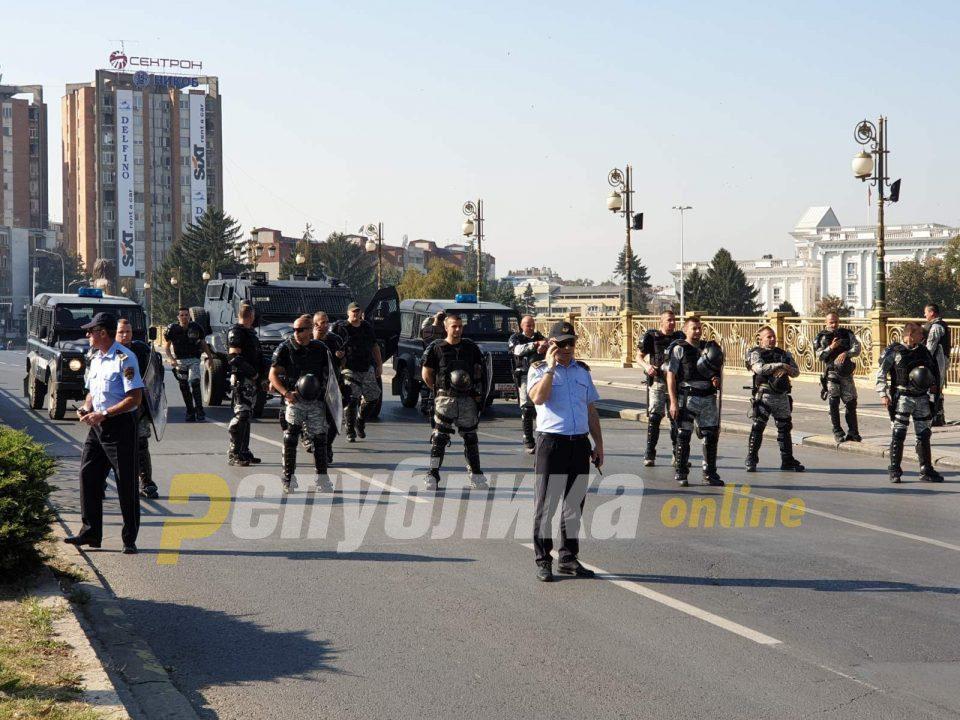 Police union holds a strike tomorrow