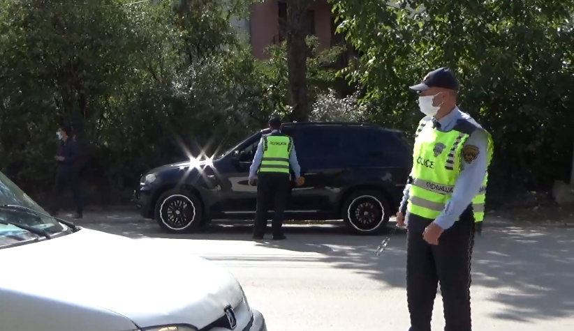Police continues with mass issuing of fines to motorists around Skopje