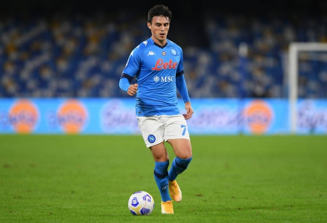 Elmas suffered a personal loss as his Napoli was bidding farewell to Maradona