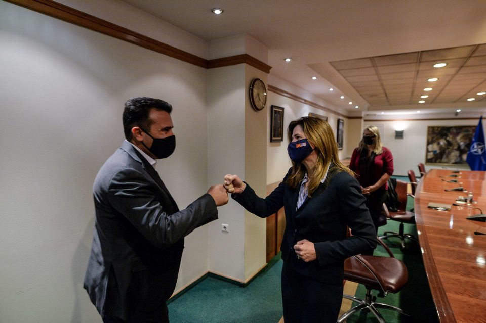 Zaev-Byrnes meeting: Our common goal is start of Macedonia's EU negotiations by the end of the year