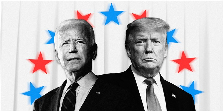Biden overturns Trump lead in two swing states as US awaits result