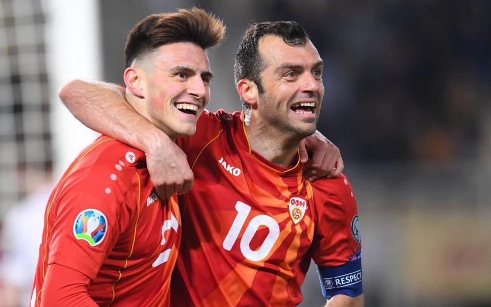Historic win: Macedonia qualifies to the European Championship
