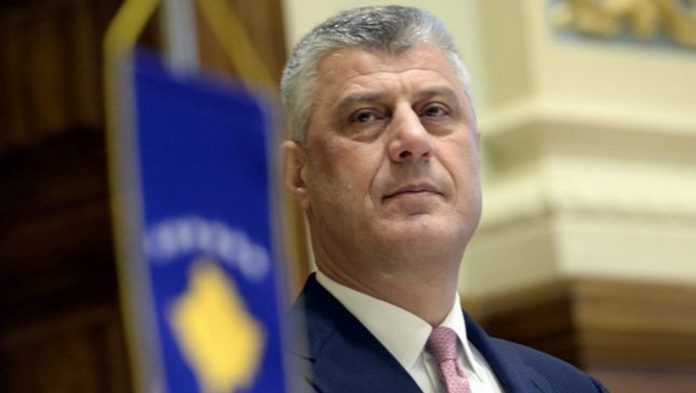 Thaci is charged with nearly 100 counts of murder
