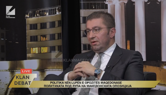 Mickoski prepared to work with the opposition Albanian parties