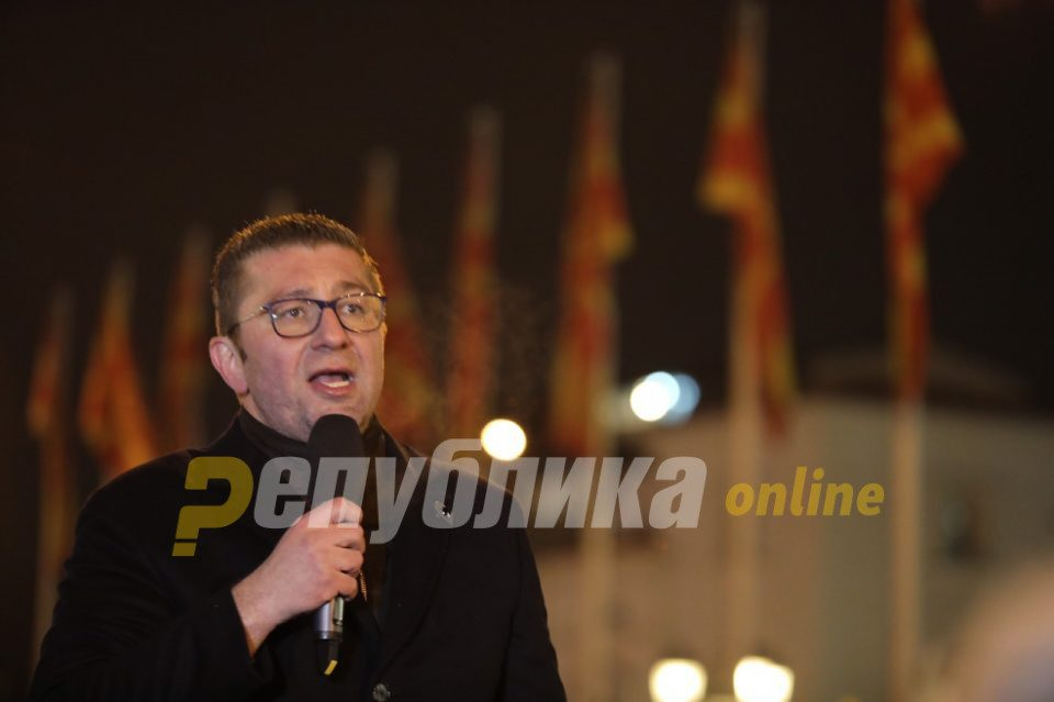 Mickoski reacts to Zaev's shocking interview: I warn the Government not to violate the Macedonian national identity