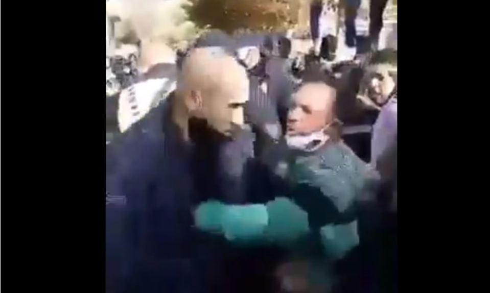 Video of an attack of Roma citizens of Kocani against the police published online
