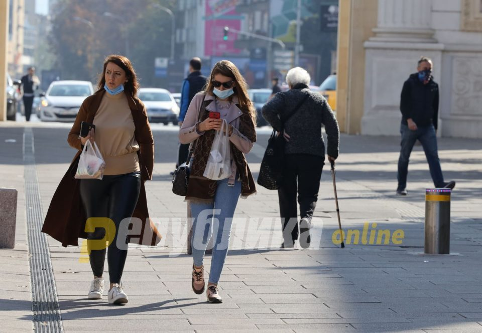 Almost 40% of confirmed cases last week in 30-49 age group, Skopje with largest number of cases