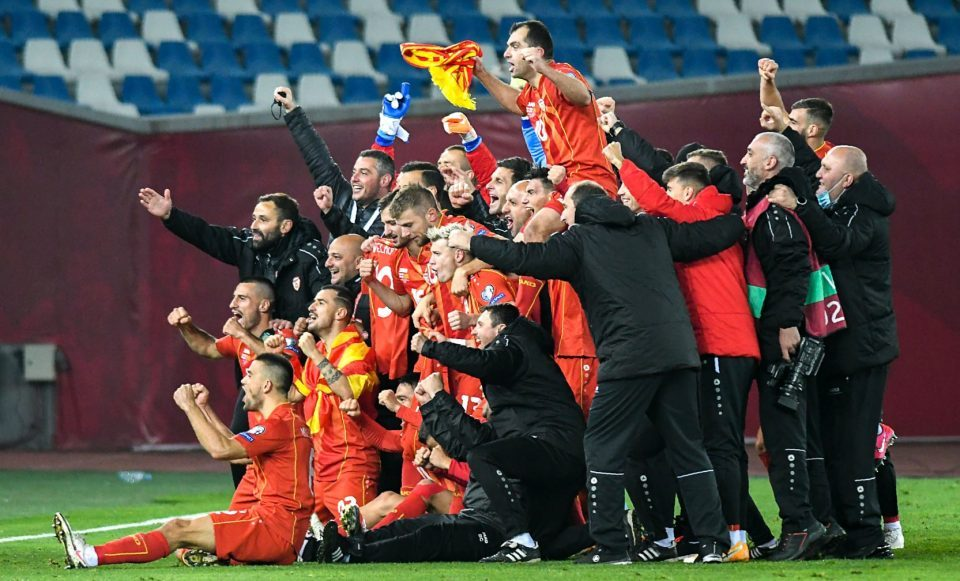 This is what football's all about – BBC says as Macedonia celebrates its European Championship success