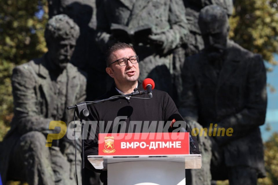 Mickoski: I am appalled by Zaev's ignorance, all he needs to do is read ASNOM's declaration