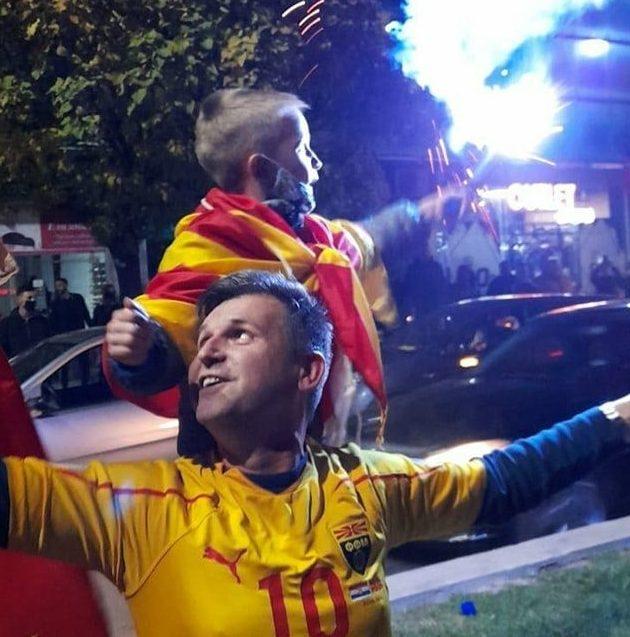 Parties break out across Macedonia
