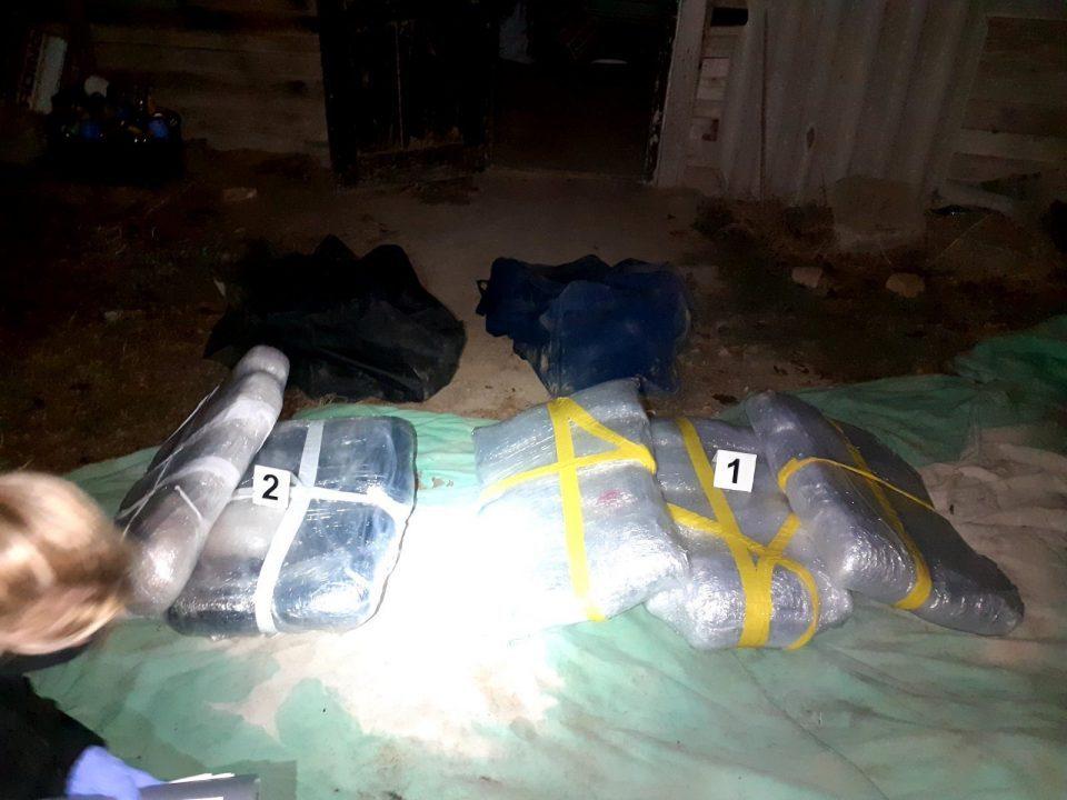Negotino police seize 50 kilograms of marijuana