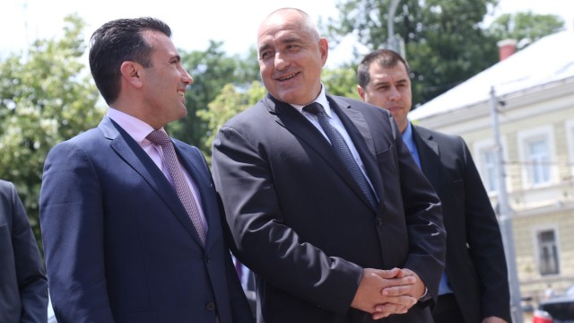 Zaev says he doesn't have a meeting with Borisov on his schedule