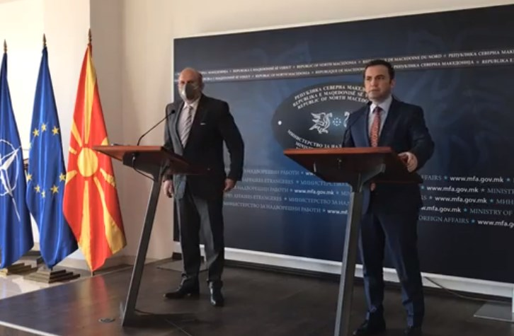 Buckovski and Osmani promised to seek a solution to the dispute with Bulgaria in the spirit of European values