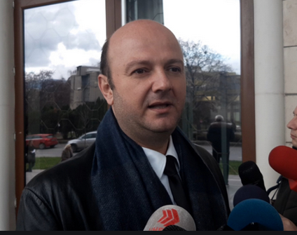 Strasevski: Tight connection between Amzovski's contributions to the International Association and the withdrawal of the indictment