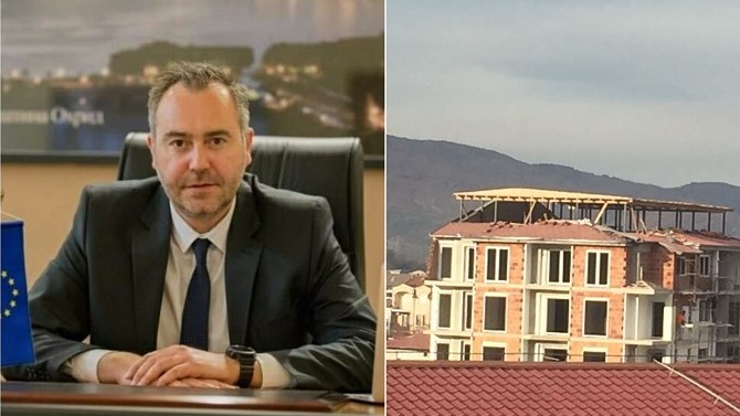 Ohrid media outlets allege that political links are behind a bizarre unlawful build
