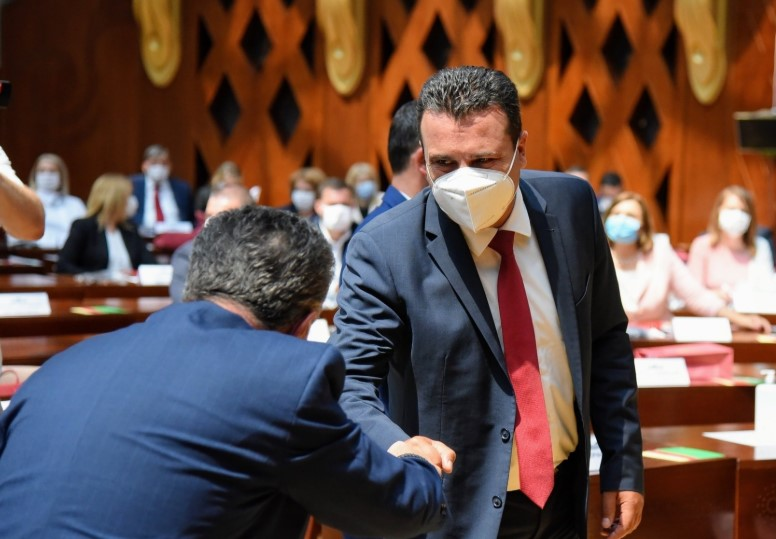 Zaev: Attempt to bock Parliament is dangerous, shameful and irresponsible