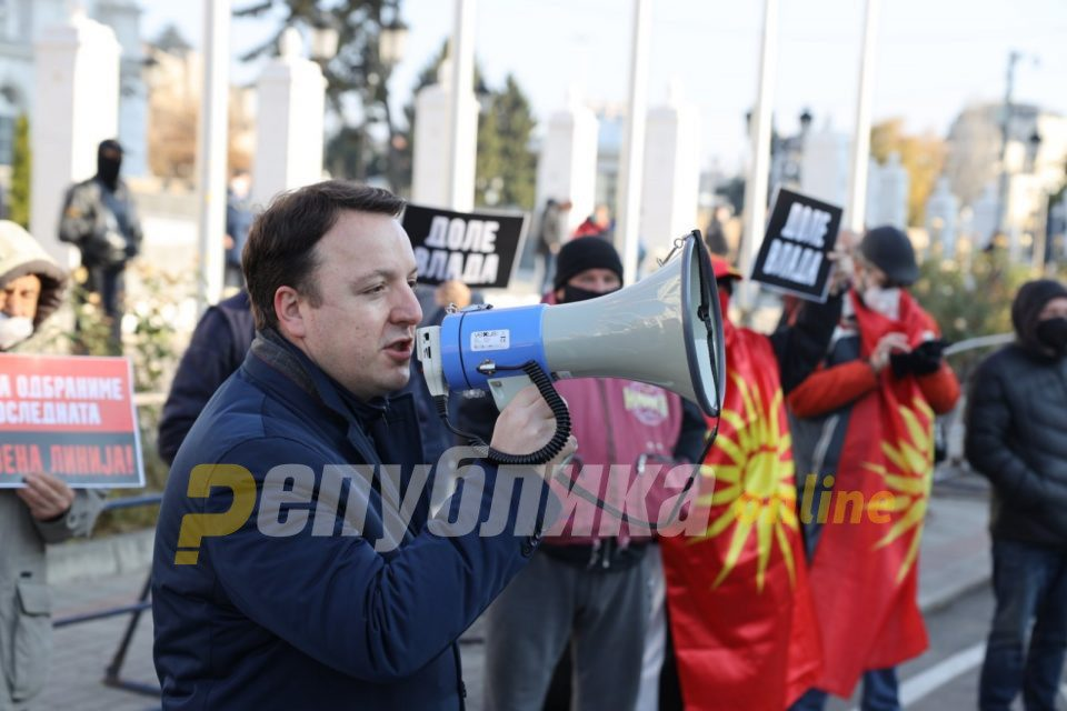 Nikoloski in Kavadarci: The government of the bandit Zaev will fall after 100 days since its formation