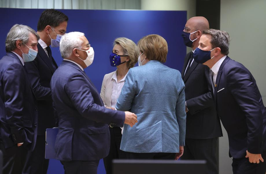 EU leaders reach agreement on their stalled budget
