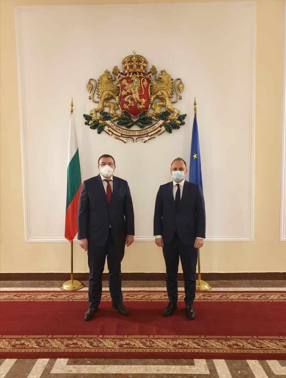 Filipce in Sofia to discuss Macedonia receiving part of Covid vaccines that will arrive in Bulgaria