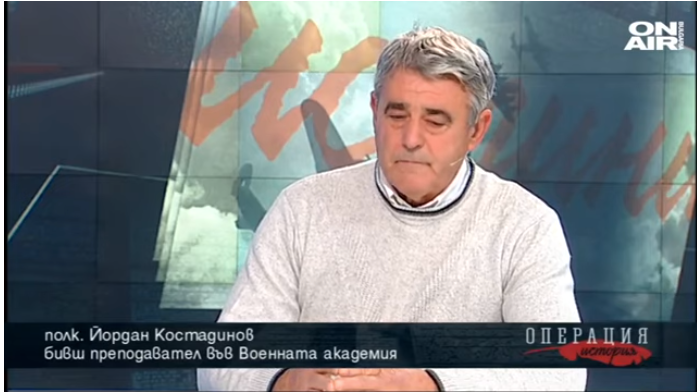 """During an interview, retired Bulgarian colonel evokes the march of """"Unified Bulgaria"""""""