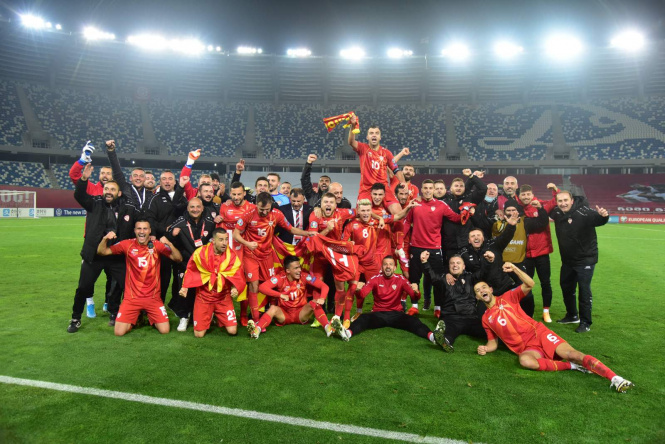 Macedonia ranks 65th in the FIFA world ranking