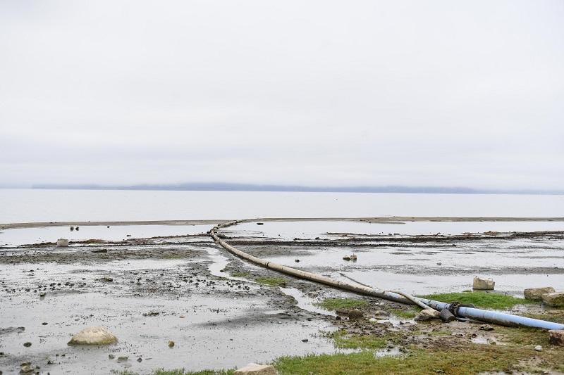 Lake Prespa levels drop to 1.52 meters below the December average, 50 centimeters below the biological minimum