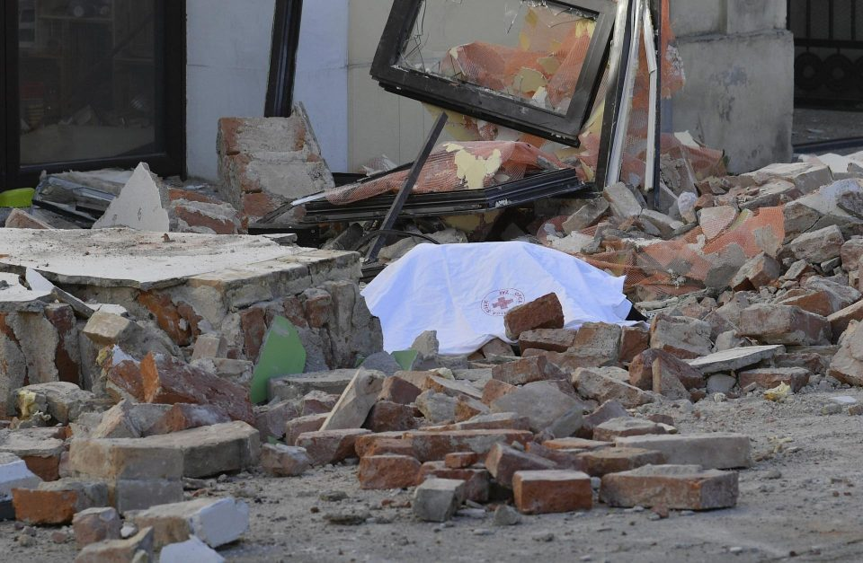 Young girl died in the Croatia quake, father and son saved from the rubble
