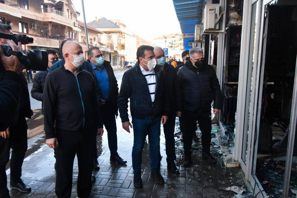 VMRO: Zaev personally needs to answer the questions about the Global mall fire