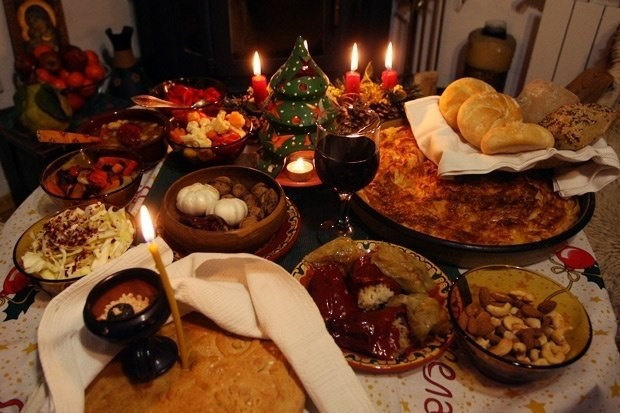 Macedonians celebrate the old style New Year