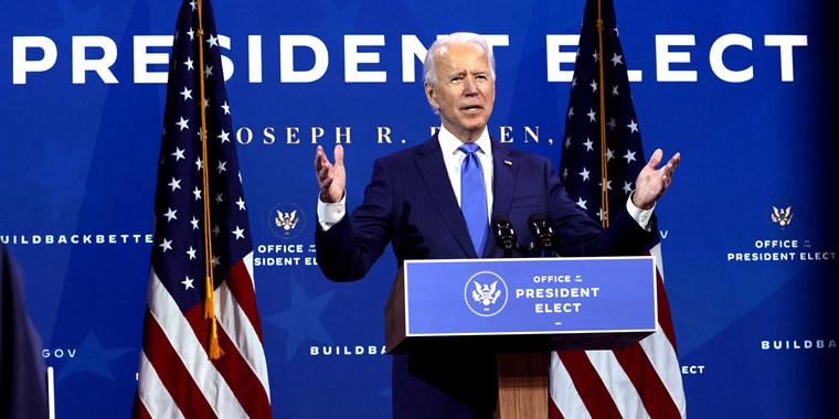 Biden to be sworn in as 46th president of the United States