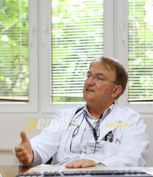 Doctor Cibisev warns that holding a census before vaccines are made available is a dangerous move