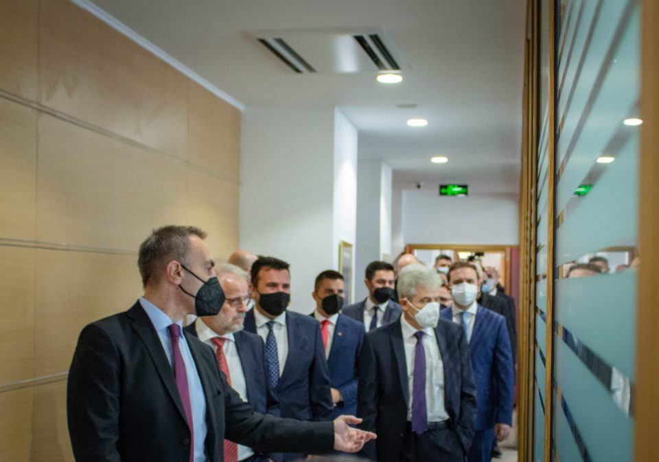 Osmani says they did not celebrate Ahmeti's birthday in Grubi's new building