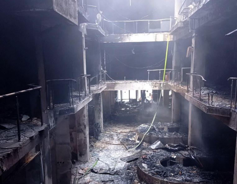 """Zaev's Government instructs all public institutions to donate for the reconstruction of """"his"""" burnt shopping mall"""
