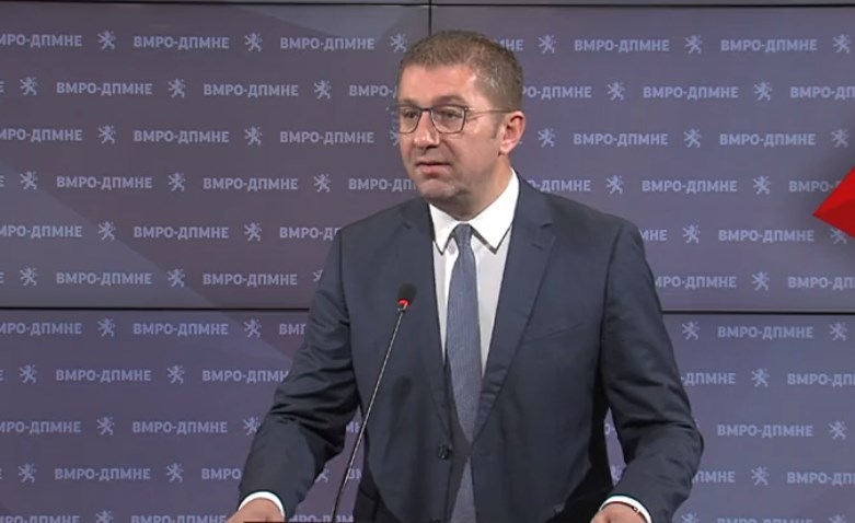 Mickoski calls on Zaev to withdraw his census law