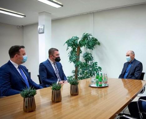 Mickoski-Jansa meeting: Support from Slovenia in the European integration process