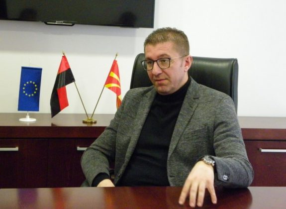 Mickoski: The current government has neither a recipe nor a strategy on how to move the Macedonian economy