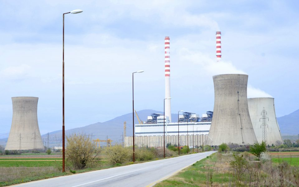 Macedonia's main power plant is almost out of coal
