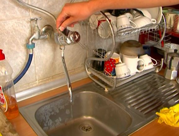 The water in Tetovo is not safe to drink due to strong rains