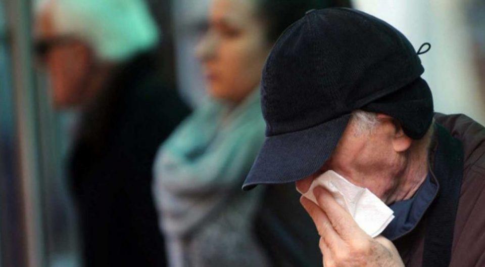 Large drop in number of seasonal flu cases