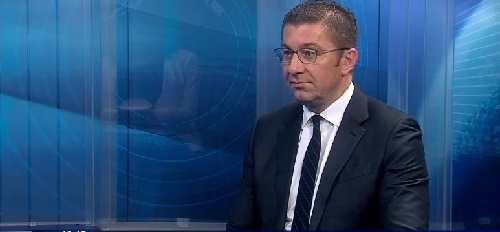 Mickoski: The census is being pushed by force, we have sided with the people and the truth