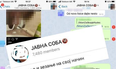"""Spasovski's incapacity to deal with the """"Public Room"""" Telegram group endangers young lives and creates victims"""