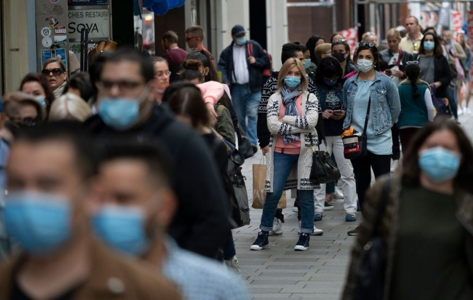 Police fine 292 people for not wearing face masks
