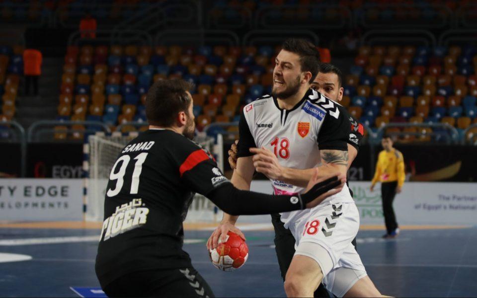 Egypt destroys Macedonia in the world handball championship